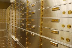 Bank Levy Safety Deposit Box