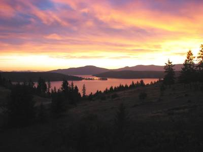 North Idaho Sunset